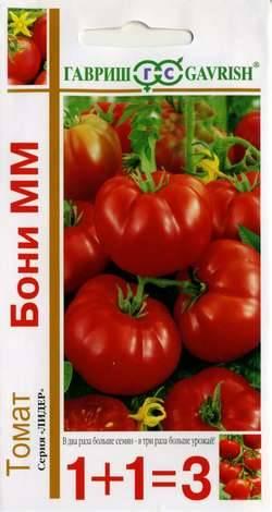 Томат бони мм: характеристика и описание сорта, фото, посадка и уход