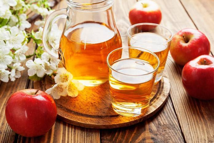 Польза и вред натурального яблочного сока