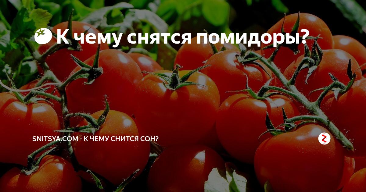 К чему снится помидор