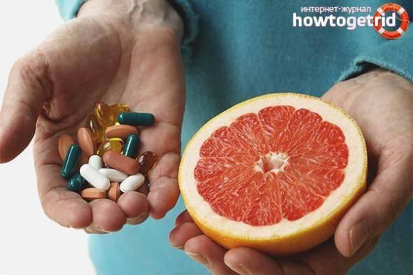 Взаимодействие лекарств с пищей - часть 1 | университетская клиника