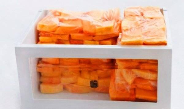 Заморозка тыквы на зиму – оригинальный способ запастись витаминами - огород, сад, балкон - медиаплатформа миртесен