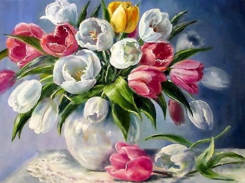 Как дольше сохранить свежими срезанные тюльпаны