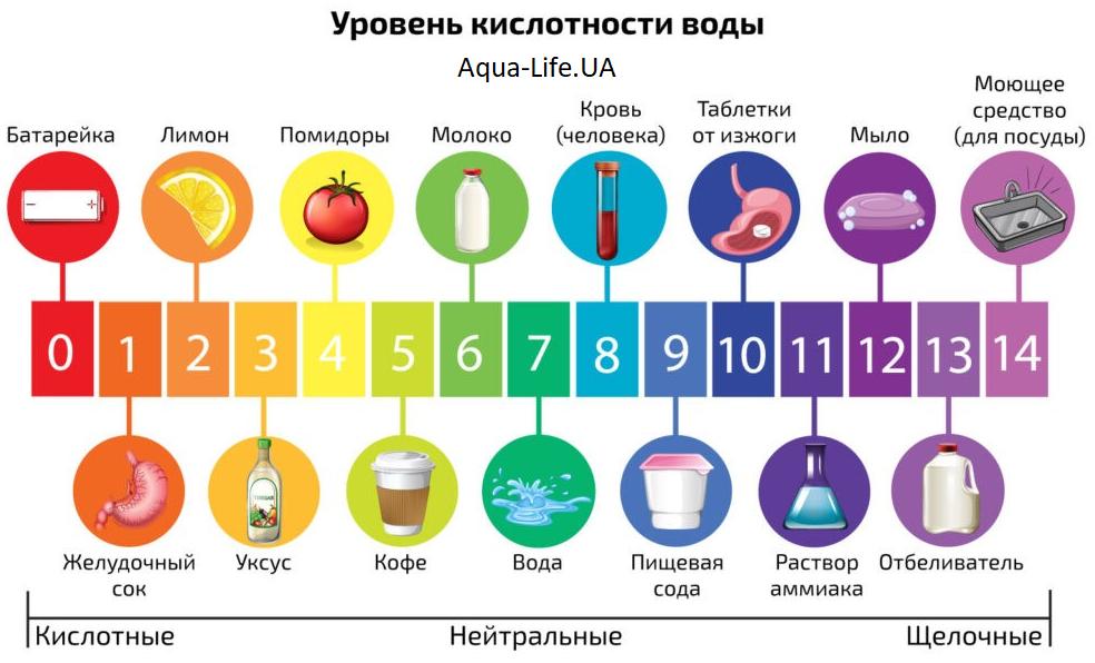 Кислотный и щелочной характер продуктов