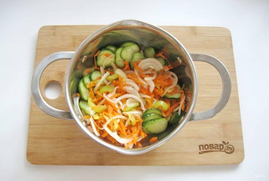 Донской салат на зиму – лучшая закуска: рецепт с фото и видео