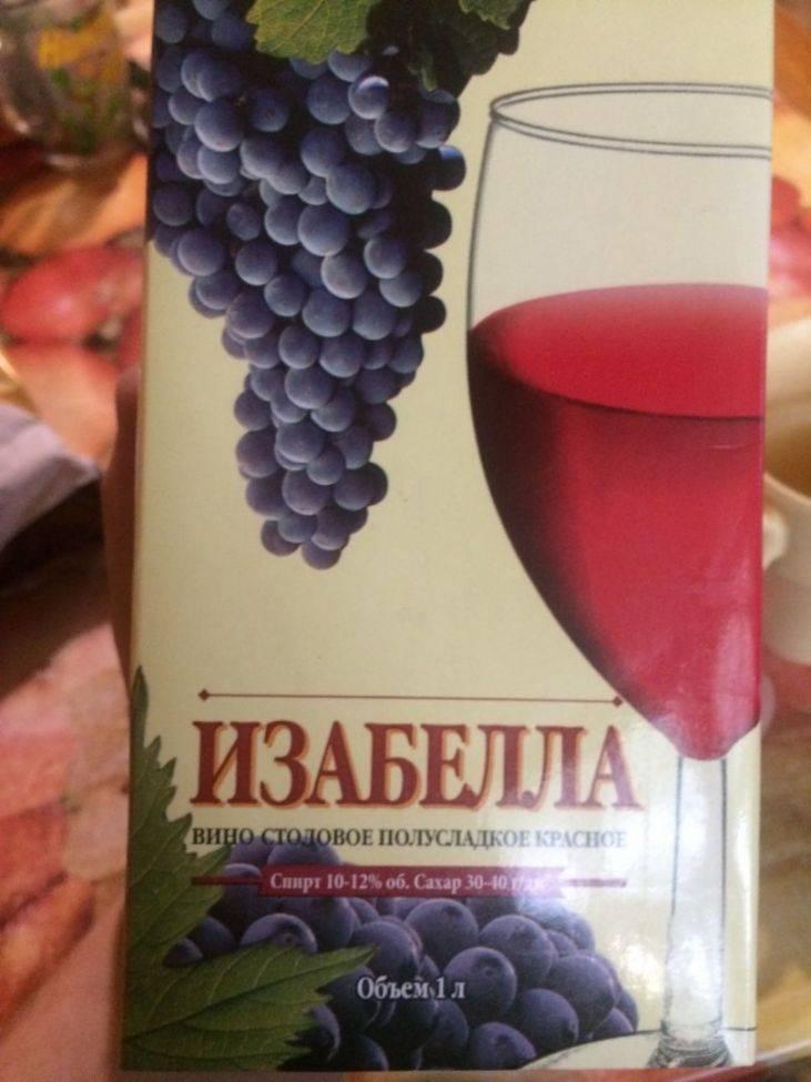 Виноград изабелла — состав и польза здоровья для человека