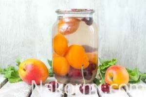 Компот из вишни на зиму – самые простые рецепты на 3, 2 и 1 литровую банку