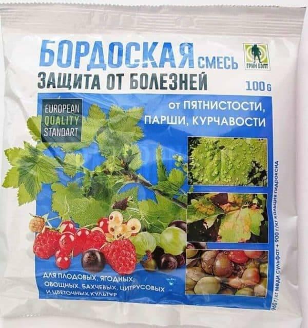 Бордосская жидкость, применение в садоводстве весной и осенью