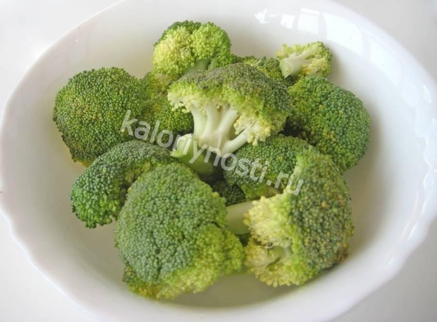 Брокколи — химический состав, пищевая ценность, бжу