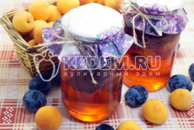 Сливовый компот - рецепты с абрикосами, яблоками, мятой и апельсином