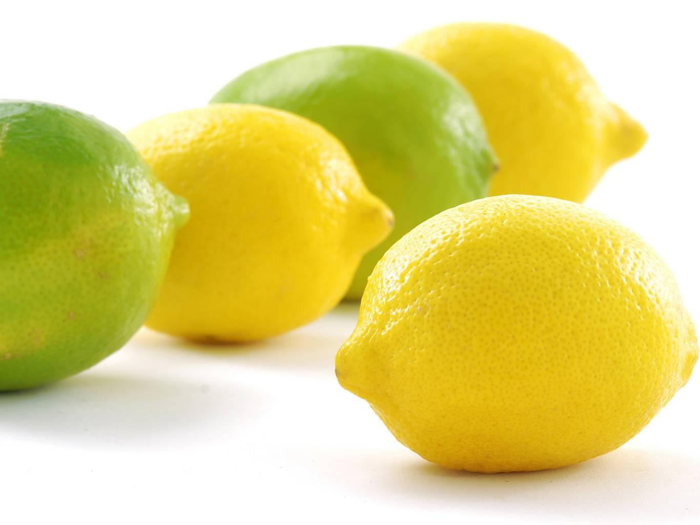 Разница между лаймом и лимоном