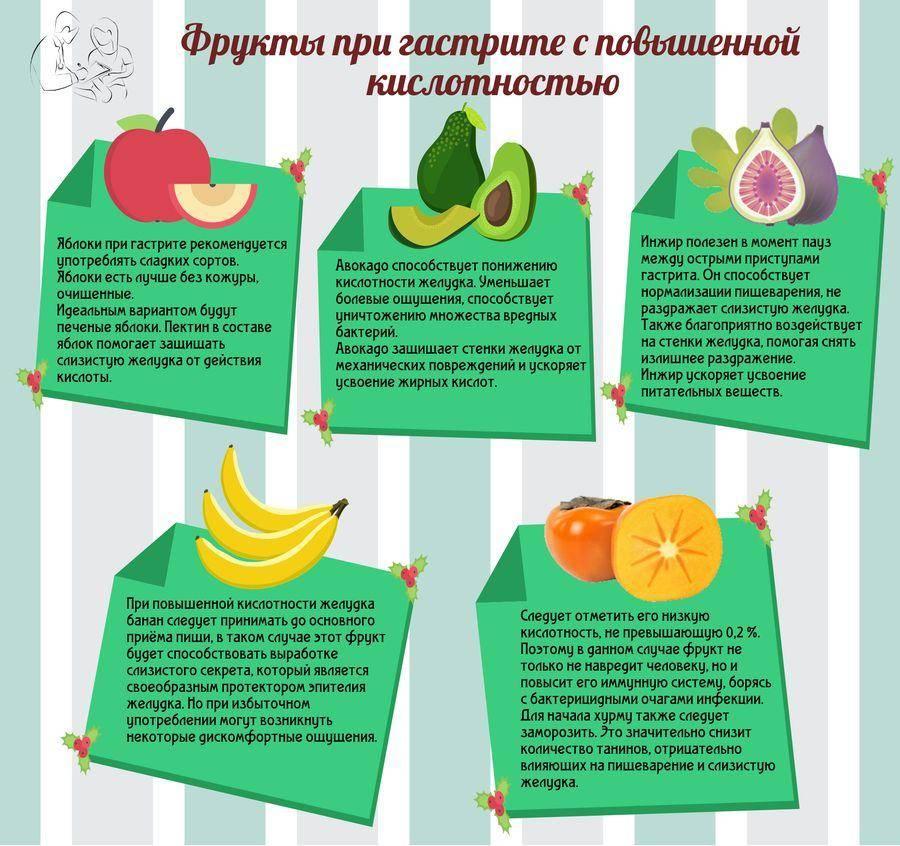 Употребление яблок при гастрите