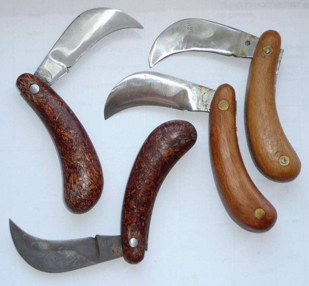Нож грибника: описание моделей со щеточкой для грибов и без нее, изготовление своими руками