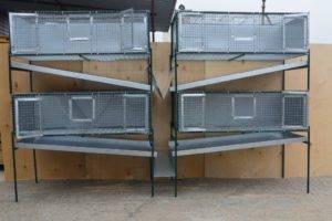 Промышленные клетки для кроликов чертежи с размерами