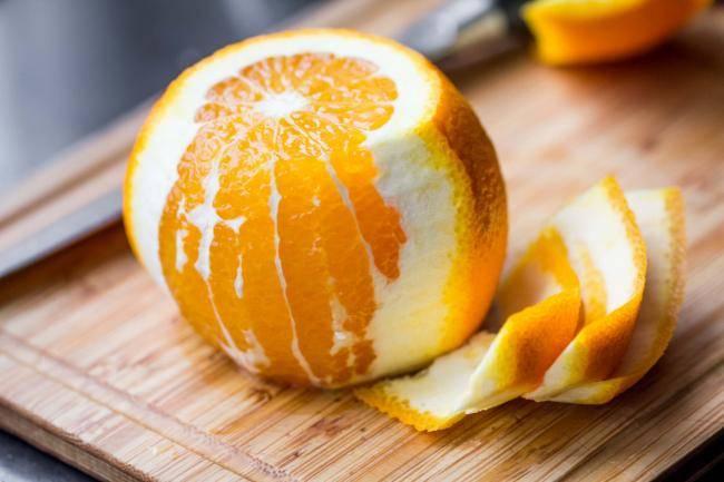 Цедра апельсина: польза и вред для здоровья