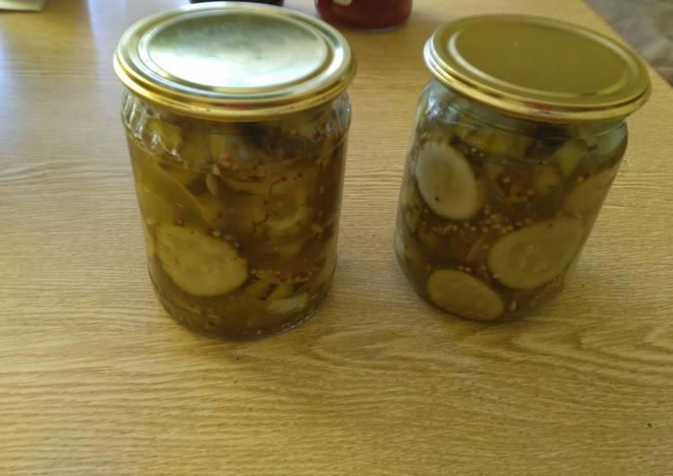 Огурцы с горчицей на зиму — 5 самых вкусных рецептов