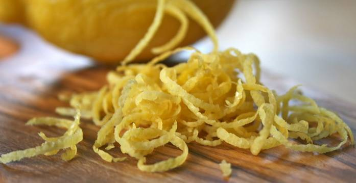 Цедра лимона - польза и вред для здоровья