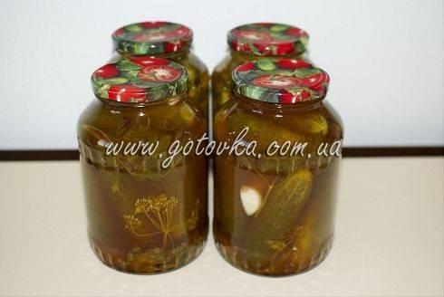 Огурцы с кетчупом на зиму