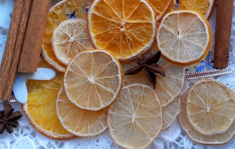 Как засушить апельсин для декора и еды