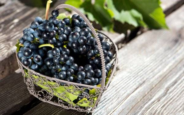 Виноград: польза и вред для организма при похудении, калорийность на 100 грамм