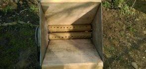 ✅ давилка (дробилка) для винограда своими руками: чертежи, механическая мялка - tehnoyug.com