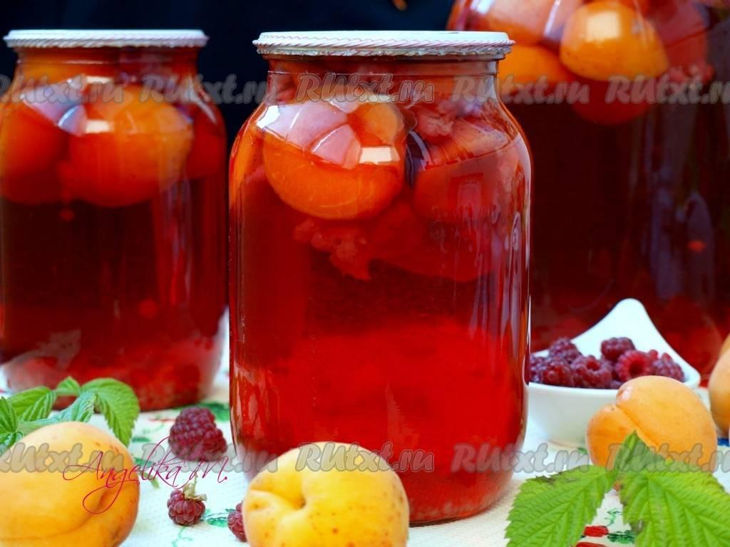 Компот из абрикосов на зиму - рецепты различных сочетаний