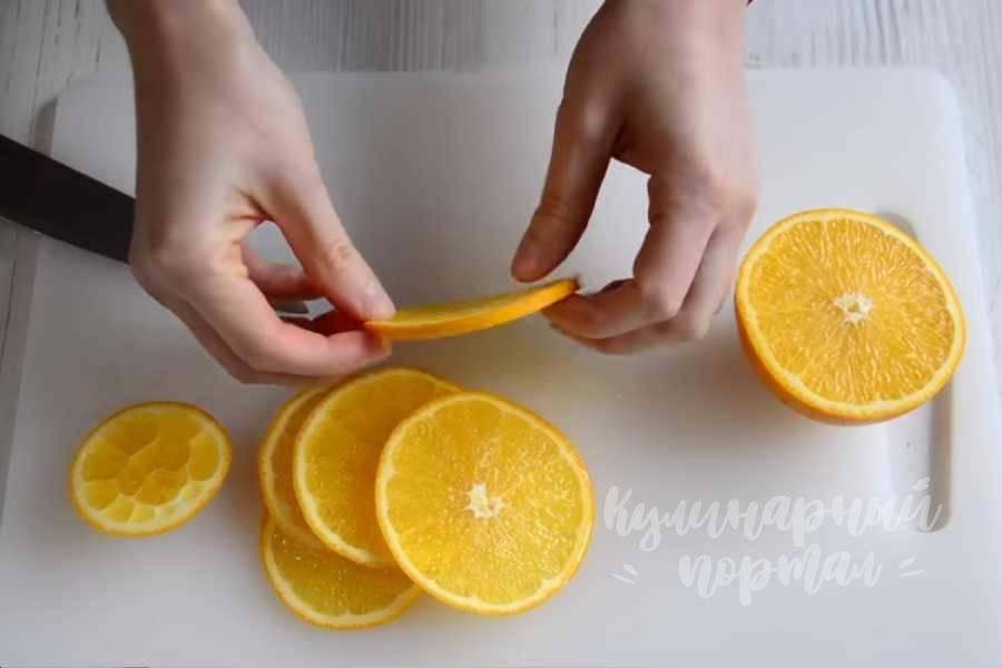 Как засушить апельсины для декора