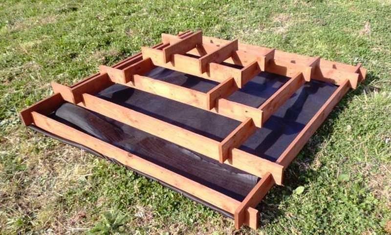 Выращивание клубники в пирамидах - как построить пирамиду самому