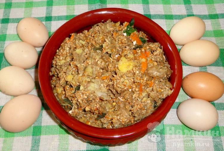 Рецепты мешанок для кур
