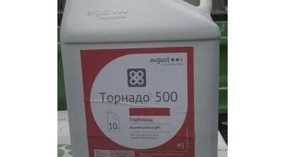 Инструкция по применению и эффективность гербицида «торнадо» от сорняков